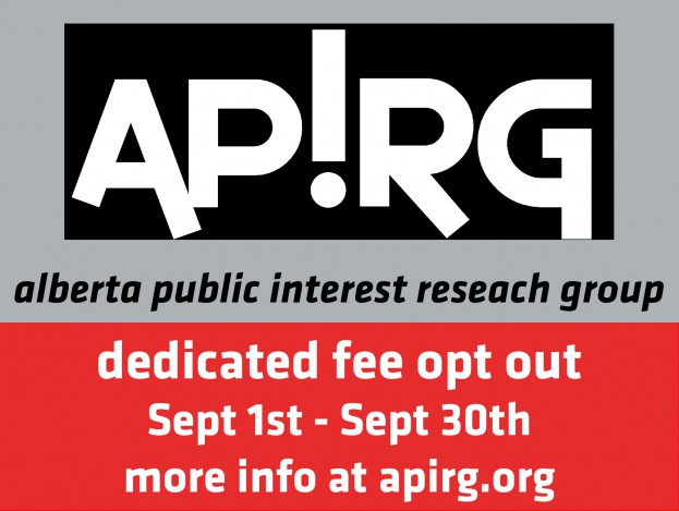 APIRG Dedicated Fee Opt Out, September 1st to 30th 2016. More info at apirg.org